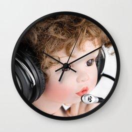 Interactive Doll Wall Clock