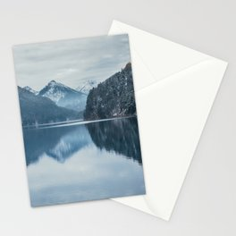 Alpsee lake,Bavarian alps Stationery Cards