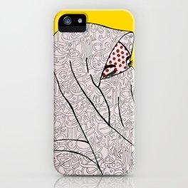 Roy Lichtenstein Meets the Arabic Woman iPhone Case