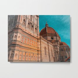 St Marie of Flowers Basilica Firenze Metal Print