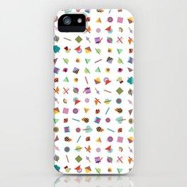 Gridlock Geometric Summer iPhone Case