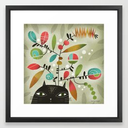 FLOWERING THOUGHT Framed Art Print