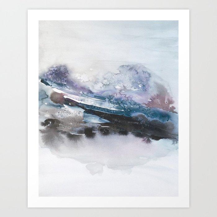 the beauty of impermanence II Art Print