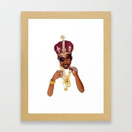 Slick Rick Framed Art Print