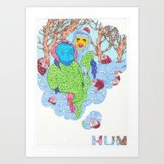 Hum  Art Print