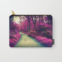Mystical Path in Forest Park, Forest, Woodlands Carry-All Pouch