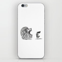 Be Louder Than Your Lions iPhone Skin