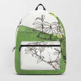 rose branch in spring Backpack