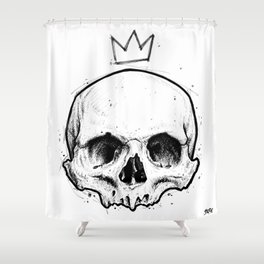 King of fools Shower Curtain