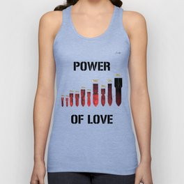 Bombes power of love colors rose noir urban fashion culture Jacob's 1968 Paris Agency Unisex Tank Top