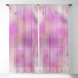 movement and stillness Sheer Curtain