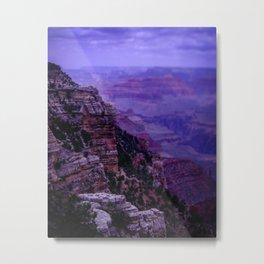 Purple Grand Canyon Metal Print