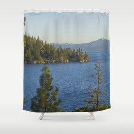 Trees + Tahoe III Shower Curtain