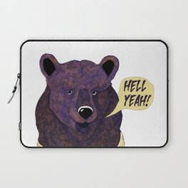 stupid bear Laptop Sleeve