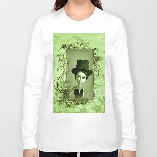 Cute girl Long Sleeve T-shirt
