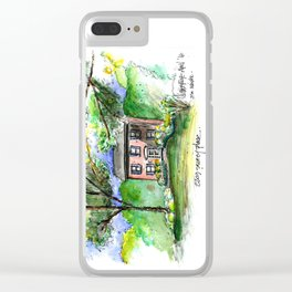 2209 Surrey Place Clear iPhone Case