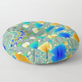 Whirlpool Mandelbrot Fractal CGI 8000x6000 Pixels 32 Bit Color Palette Floor Pillow