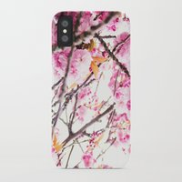 martell iPhone & iPod Cases featuring Seattle Blossoms by G Martell