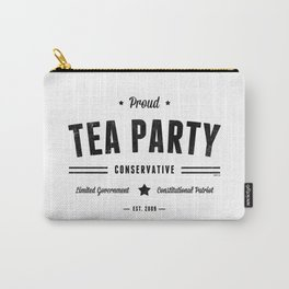 Tea Party Conservative Carry-All Pouch