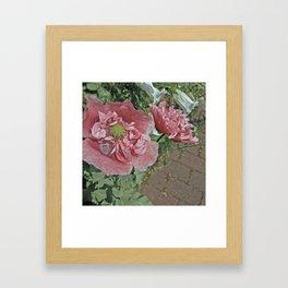 Blomma Framed Art Print
