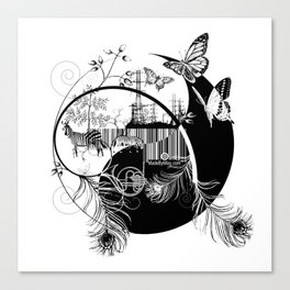 counterbalance Canvas Print