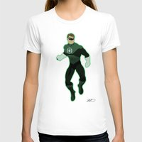 green lantern T-shirts featuring Green Lantern by The Vector Studio