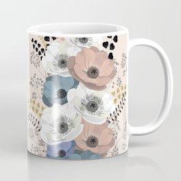 Anemones bouquet pink pastel Coffee Mug