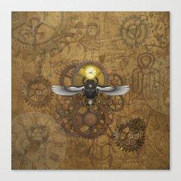 Egyptian Steampunk Canvas Print