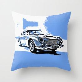 BMT 216A (blue) Throw Pillow
