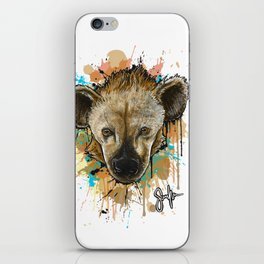 Spotted Hyena iPhone Skin