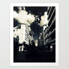 Calle Luis Morote Art Print