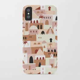 Moroccan houses iPhone Case