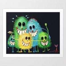 Happy Families Art Print