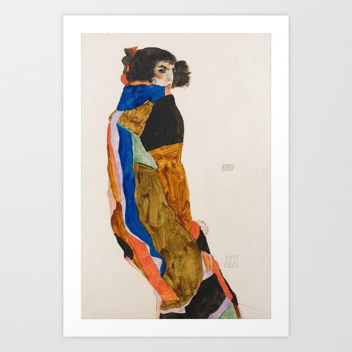 """Egon Schiele """"Moa"""" Kunstdrucke"""