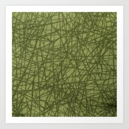 Beautiful Pattern #36 Greenfield Art Print