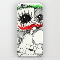 gizmo iPhone & iPod Skins featuring GIZMO JOKER by John McGlynn