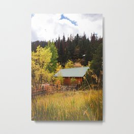 Box Canyon, Colorado Metal Print