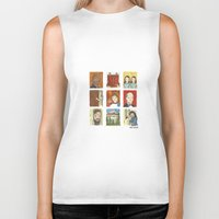the shining Biker Tanks featuring The Shining by Steven Learmonth