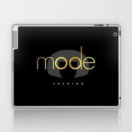 Edna Mode Fashion Dark Gold Laptop & iPad Skin