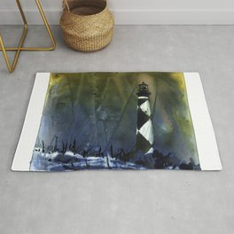 Cape Lookout lighthouse- Outer Banks, North Carolina Rug