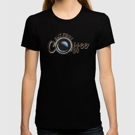 but first coffee (photo) T-shirt