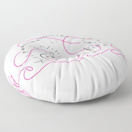 Conqueror Floor Pillow