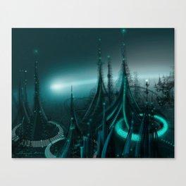 Utopia City Canvas Print