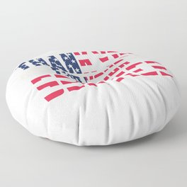 Veteran Army Soldier Navy Memorial Day Thank You For Your Service Gift Floor Pillow