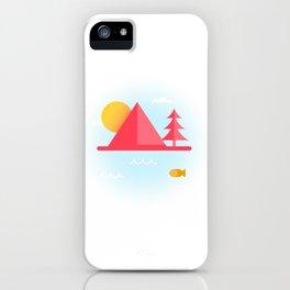 OCEAN TO SKY iPhone Case