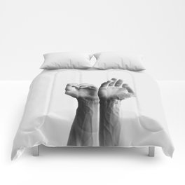 Forearms, inverted Comforters