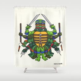 TMNT Shower Curtain