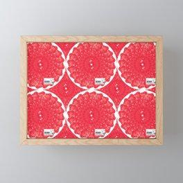 Shabu-Shabu Finland (pattern)- MimeticMaps Framed Mini Art Print