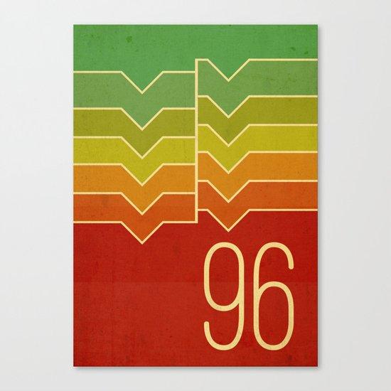 Nineteen ninety six Canvas Print