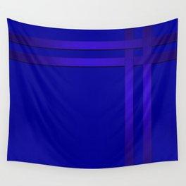 Cobalt blue Wall Tapestry